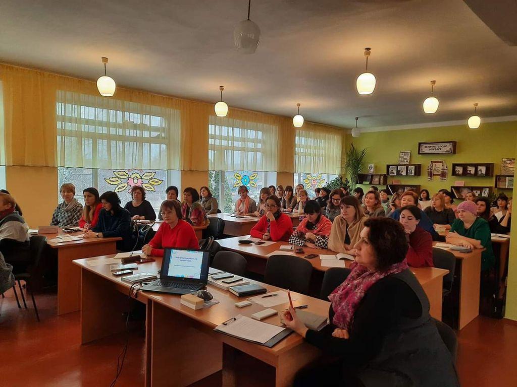 Адаптация детей с аутизмом: состоялся семинар Консула «Аутизм-Европа» Инны Сергиенко в Городище