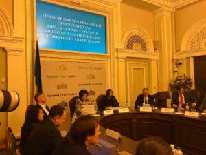 ВР Украины, круглый стол «Проблемы профессиональной ориентации и трудоустройства молодежи с особыми потребностями»