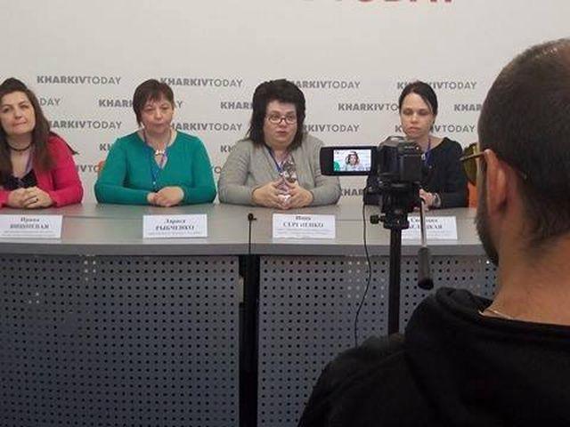Брифінг після регіонального семінару, Харків