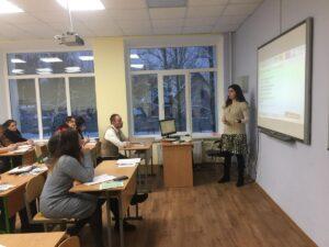 Семінари і майстер-класи в школах, Київ 2018