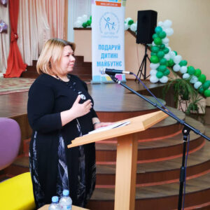 'Children with mental development disorders in an inclusive space' topic was discussed in Zhytomyr