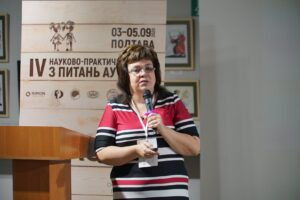 Representatives of the NGO 'Child with Future' took part in the IV Scientific and Practical School on Autism