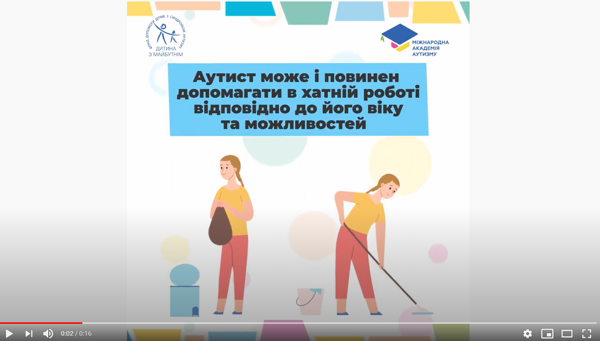 The International Autism Academy launched a new series of videos about the behavior of people with ASD