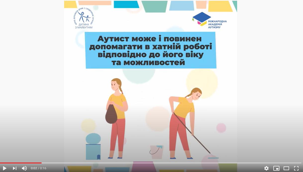 «Міжнародна академія аутизму» запустила нову серію роликів про особливості поведінки людей із РАС