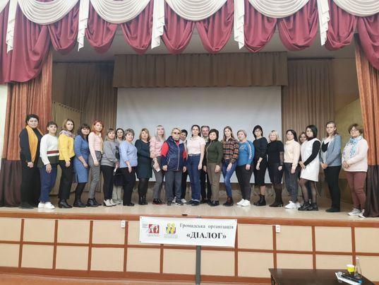 День майстер-класів у Миколаєві: Ірина Сергієнко та Білл Петерс завітали до 57-ї школи міста з корисними знаннями